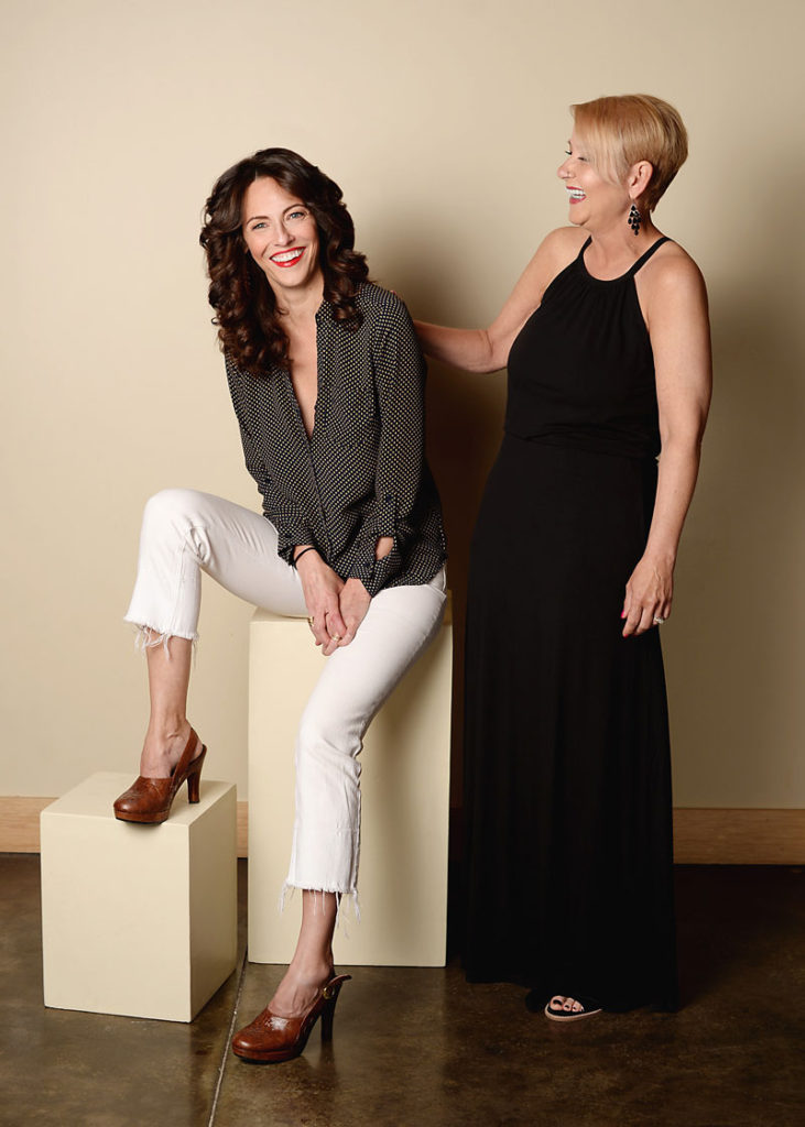 Suzanne & Angela - Co Owners of Stem Hair and Body